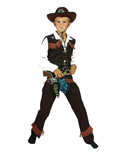 Cowboychaps mit Weste - Größe: 140