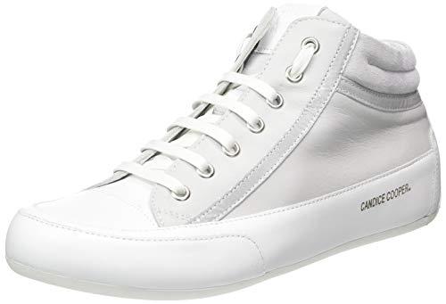 Candice Cooper Damen Denver Hohe Sneaker, Silber (Silver Chantal), 40 EU