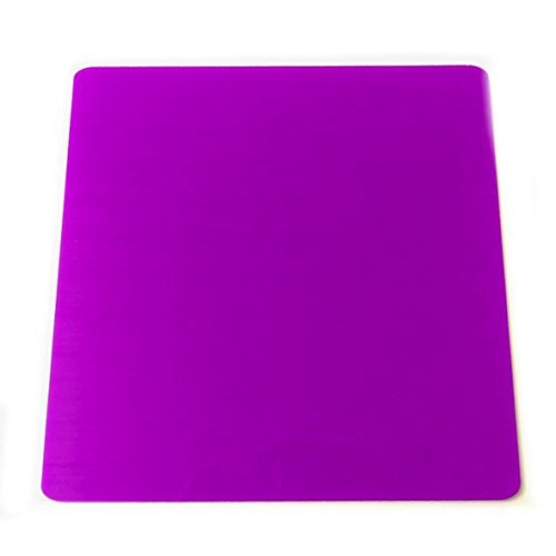 Super Cool Creations 8 Dessous de Verre Acrylique carré Violet