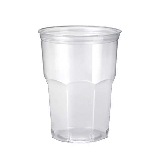 PZ 100 verre Kristal Cocktail transparents ml 270 Mojito Coca et Rhum Happy Hour apéritif apericena PLP jetables