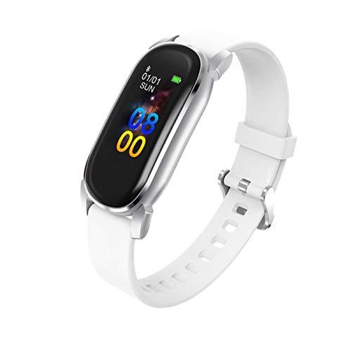 XXY Muñeca Inteligente Tasa del Corazón Monitoreo del Sueño Termómetro Touch Termómetro Impermeable Medición De Temperatura Smart Sport Watch White
