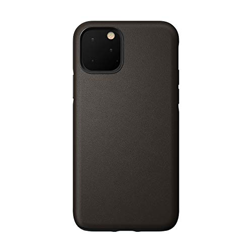 Nomad Rugged Case for iPhone 11 Pro | Mocha Brown Heinen Active Leather