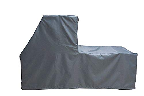 """Elliptical Trainer Cover, Elliptical Machine Protective Dust-proof Waterproof Water-Resistant Fitness Equipment Fabric Ideal for Indoor Outdoor Use(Gray) (71"""" long x 31"""" wide x 70"""" high)"""