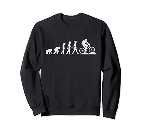 Evolución de la bicicleta de montaña - MTB de descenso Sudadera