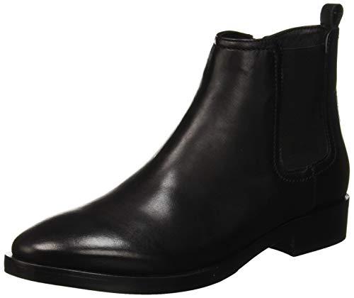 Geox Damen Donna Brogue a Chelsea Boots, Schwarz (Black C9999), 41 EU