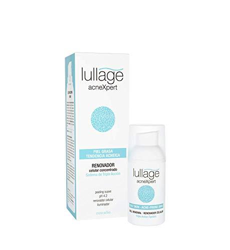 Lullage acneXpert Renovador Celular Concentrado exfoliante en gel para la piel grasa con imperfecciones o propensa al acné  Efecto Peeling  Ácido Azelaico | Ácido Salicílico | Ácido Glicólico, 30 ml