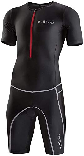 logas Combinaison Trifonction Homme Vêtement Triathlon Natation Manches Courtes