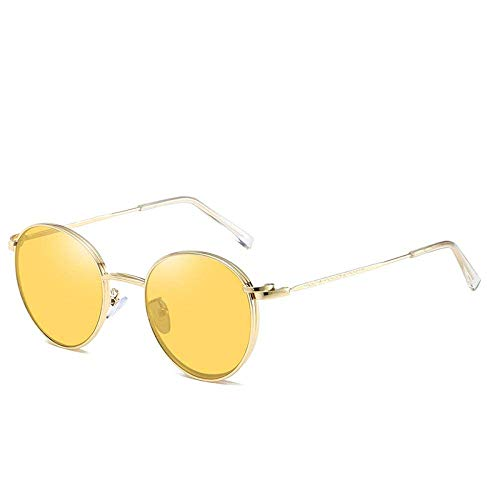 CLJ Sonnenbrillen für Auto Retro ovale Sonnenbrillen Frauen Männer Vintage Magnetclip auf Sonnenbrillen Brillenrahmen
