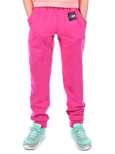 KMISSO Mädchen Freizeit Sport Sotff Hose 30320 Pink 164