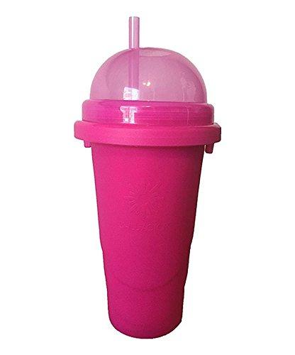 weg-ist-weg.com Chillfactor Slusheis Maker/Slush EIS Maschine in pink, BPA-Frei/Lebensmittelecht - Slushymaker, Eisbecher 240 ml, Wassereis selber Machen