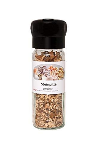 Steinpilz Pilzmühle - Das perfekte Gewürz für Ihre Gerichte - getrocknete Pilze zum Würzen und Verfeinern