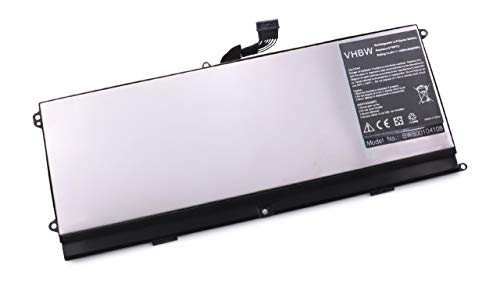 vhbw Li-Polymer Batterie 4400mAh (14.8V) pour Ordinateur Portable, Notebook Dell L511Z, XPS 15z comme 075WY2, 0HTR7, 0NMV5C, 75WY2, NMV5C, OHTR7.
