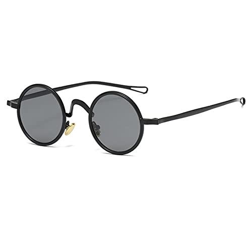 LUOXUEFEI Gafas De Sol Gafas De Sol Redondas Para Hombre Gafas De Sol Para Mujer Gafas De Montura Pequeña Para Mujer