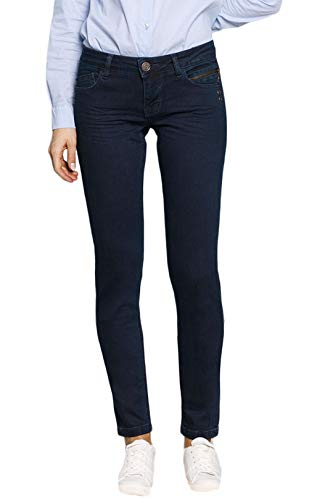 BlueFire Damen Jeans Tyra Super Tight Fit Blueblack (84) 31/32