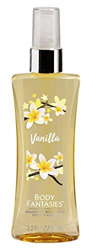 Body Fantasies Vanilla Body Spray, 94 ml