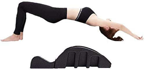 Liuyulong Spine Supporters Yoga Columna Arco Masaje Cama Pilates Multi Función Masaje Pilates Mesa de Masaje para Mejorar la Postura Resistencia Pilates Arco Corrector Desmontable Yoga Espuma Equipo
