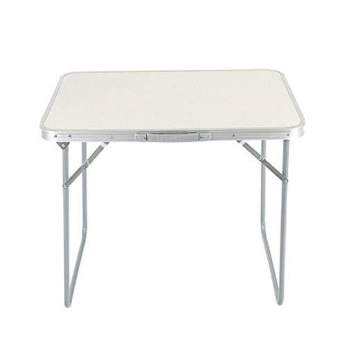 PULLEY-S Mesa Plegable Simple, Ligero Plegable Mesa de Comedor al Aire Libre Camping Trabajo de la Cocina de Mesa S