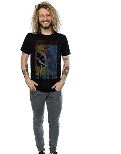 Guns N Roses Men's Use Your Illusion T-Shirt XXX-Large Black