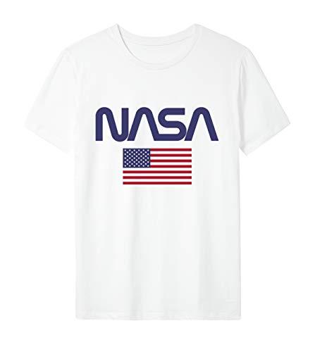 ARTIST T-Shirt NASA Logo Worm USA novità (XL)