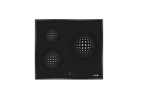 Foster Elettra - Placa de inducción, color negro, 59 x 52 x 5,3 cm