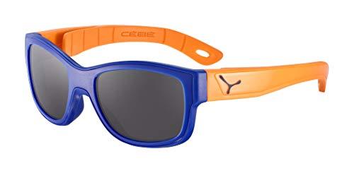 Cébé Scrat Lunettes de soleil Bleu marine et orange mat Enfant Mixte 7>10