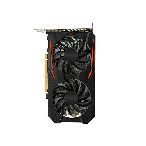 Newwiee Fit for GIGABYTE GA MSI Tarjeta Raphic GTX 750Ti 2GB 960 2G 4G 1050Ti 4G 1060 3G 5G GPU Soporte AMD Intel Desktop Gaming Tarjeta gráfica(Color:A-GA-GTX-1050TI-4GB)