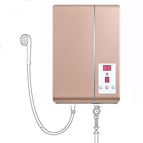 BTSSA 4800W 220V Energie Sparen LCD-Anzeige Touch Tankless Elektrischer Durchlauferhitzer,Hohe Leistung, Geringer Energieverbrauch