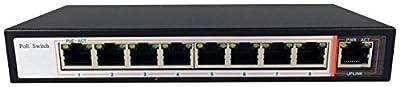 Aposonic A-POE-SW162GS 2 Port Gigabit SFP Switch, IEEE 802.3af/at, designed for IP Cameras / AP