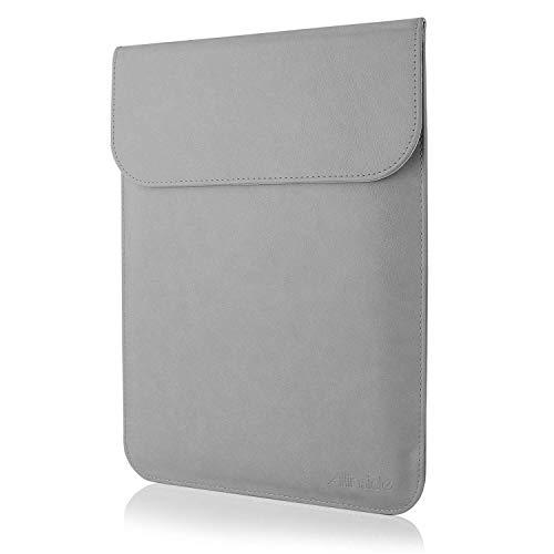Allinside Funda de Cuero Sintético para portátiles de MacBook Air 13' 2010-2017 (A1369 A1466)/...