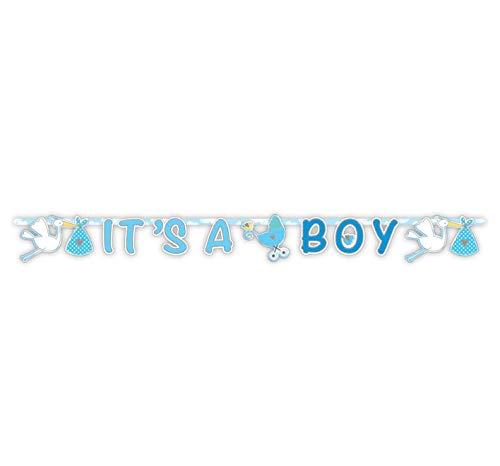 Girlande Its a Boy XL blau