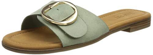ESPRIT Damen 041EK1W319 Slipper, 335/DUSTY Green,42 EU