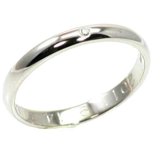 [京都ジュエリー工房] 結婚指輪 マリッジリング 2.2mm幅 甲丸 プラチナ pt900 リング シンプル ハンドメイド PT900 プラチナ ペアリング ダイヤ 入り mari-kou-cyu-d 19号