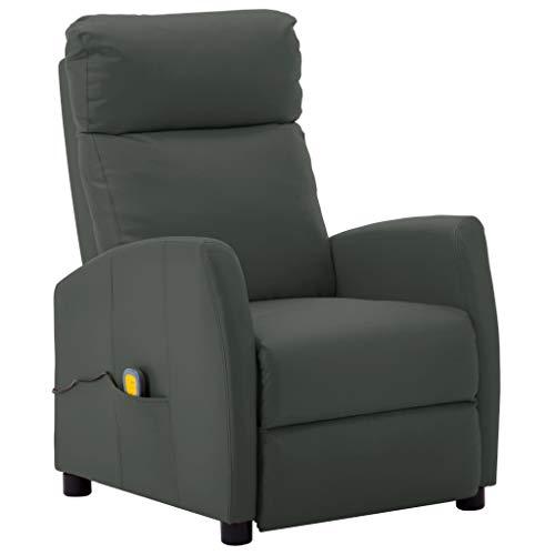 Tidyard Poltrona Massaggiante Relax Reclinabile...