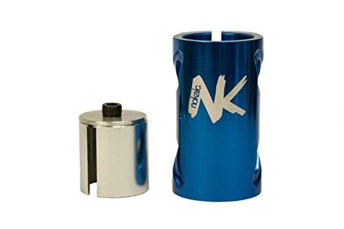 Nokaic SCS, Compresión de 4 Tornillos para Patinete Freestyle, Color Azul