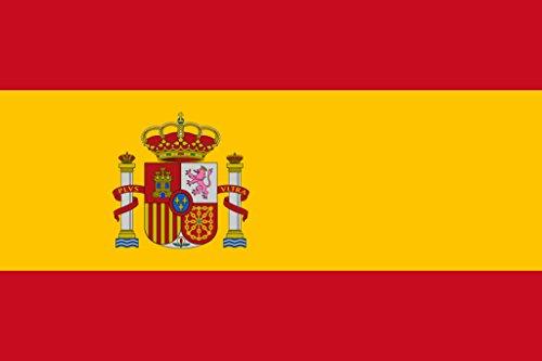 TENNER.LONDON Bandera España Londres planchar