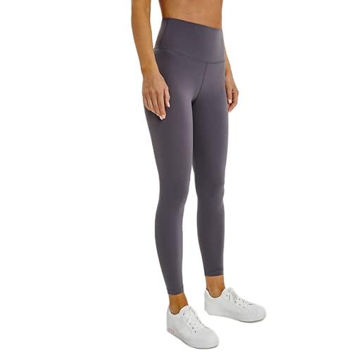 QTJY Pantalones de Yoga elásticos para Mujer, Cintura Alta, Cadera, Cadera, Pantalones Ajustados para Correr, Push-up, Gimnasio, Celulitis, Pantalones de Fitness A S