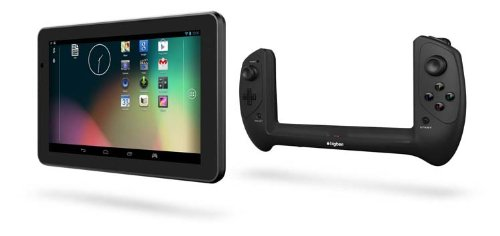 Bigben Interactive GAMETAB-ONE - Tablet (17,8 cm (7'), 16 GB, 2 GB, 1,8 GHz, Android 4.2, Negro)