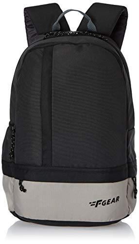 F Gear Burner 19 Ltrs Grey Black Casual Backpack (2449)
