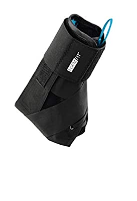 Ossur Formfit Ankle with Speedlace - Medical Grade Ankle Stability and Protection, Single Pull Closure Mechanism and Removable Semi-Rigid Stays (Small)