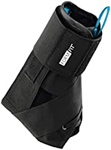 Ossur FormFit Ankle Brace with Speedlace & Figure 8 Straps   Single Pull Closure & Removable Semi-Rigid Stays   Ankle Immobilization Post Injury or Prophylactic Use   Durable Material   (Large)