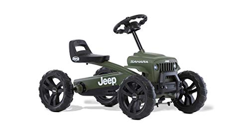 BERG Pedal Gokart Buzzy Sahara | Coche de Pedales, Seguro y Estabilidad, Juguete para niños Adecuado para niños de 2 a 5 años