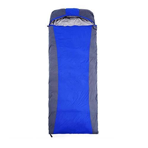 KACT Bolsa de dormir Bolsa de dormir con sobre, cinturón de transporte liviano, impermeable, bolsa de dormir cálida y cómoda, temporada 3/4 for acampar, mochilero, senderismo y otras actividades al ai