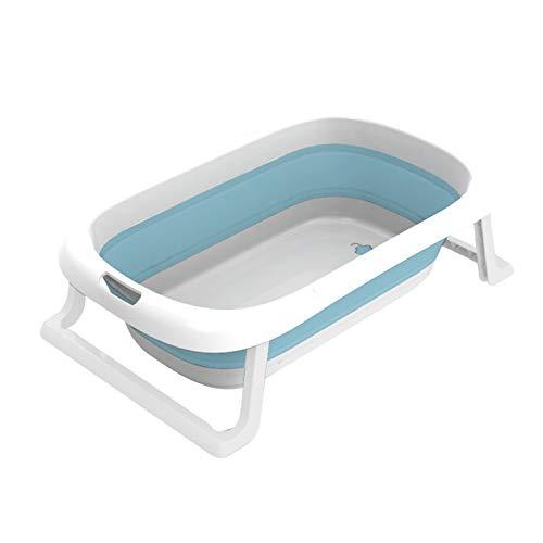 XUJIE Bañera para bebés, para bañera ergonómica de plástico, Plegable Antideslizante, Longitud de la bañera para niños 76 cm, 0-12 años