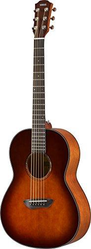 Yamaha CSF1M TBS Parlor Size Acoustic Guitar with Hard Gig Bag- Tobacco Brown Sunburst