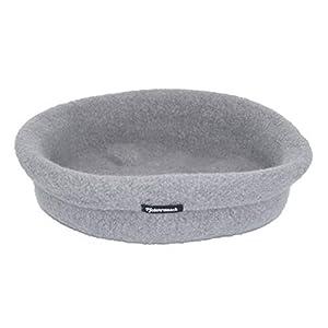 Filzbettchen für Katzen oder kleine Hunde – grau