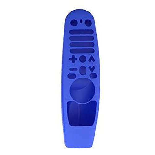 MaylFre Funda remota de Silicona Compatible con LG Smart TV Control Remoto AN-MR600 MR19BA Azul Portátil Portátil Vida práctica Herramienta