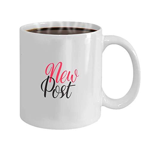 Lsjuee Coffee Mug Cup Gifts nueva publicación letras dibuja