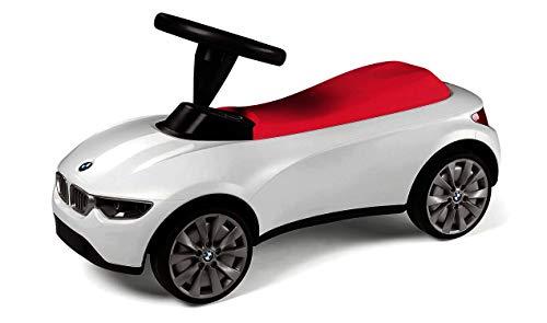 BMW Baby Racer III Schubstange Polizei Motorsport Weiß Türkis Schwarz Himbeerrot Mini (Himbeerrot)