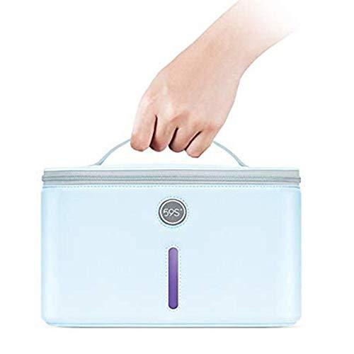 UV-Sterilisator, 59S UV-Sterilisator LED-Tasche mit 24 Lampenperlen Schnelle Sterilisation 99,9%, Geeignet für Unterwäsche, Kleidung, Tablet, Handys