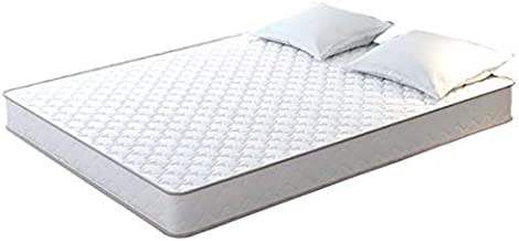 Snoozone 6 Inch Bonell King Mattress, White - H 15.25 cm x W 180 cm x D 200 cm